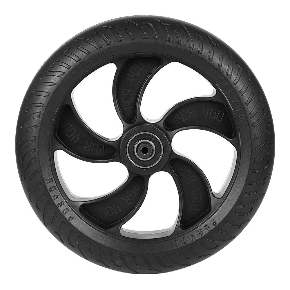 Rear Wheel For KUGOO S1  Folding Electric Scooter Only - Black