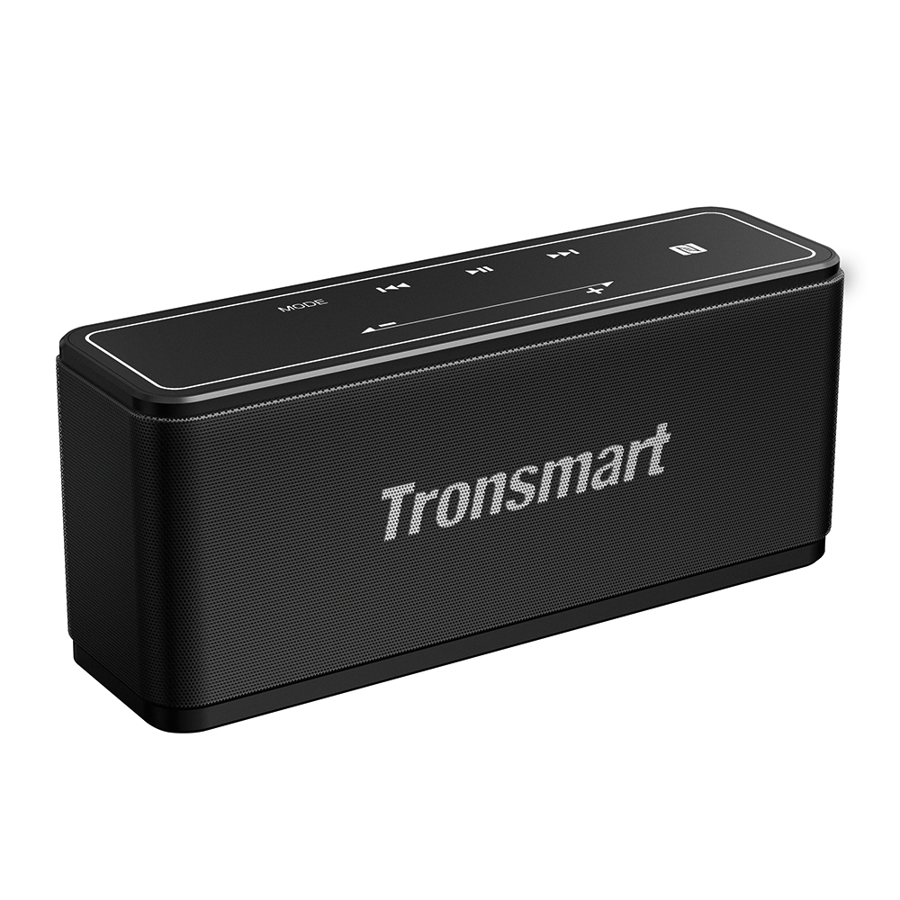 Tronsmart Element Mega SoundPulse™ Bluetooth 5.0 Speaker with Powerful 40W Max Output 3D Digital Sound TWS Intuitive Touch Control - Black
