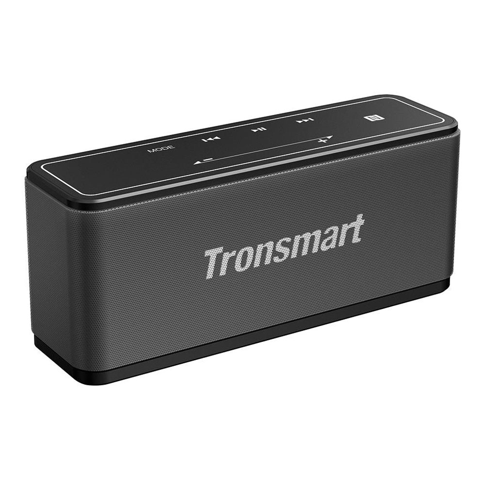 Tronsmart Element Mega SoundPulse ™ Bluetooth 5.0-Lautsprecher mit leistungsstarkem 40W-Maximalausgang 3D-Digital-Sound TWS Intuitive Touch Control - Grau