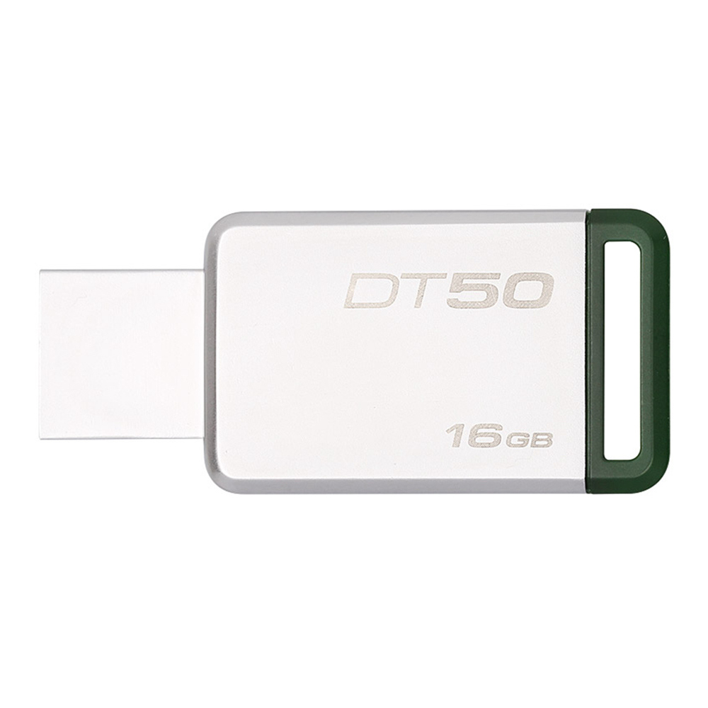 Kingston DT50 16GB USB Flash Drive Data Traveler USB 3.0 Interface 110MB/s Read Speed - Random Color