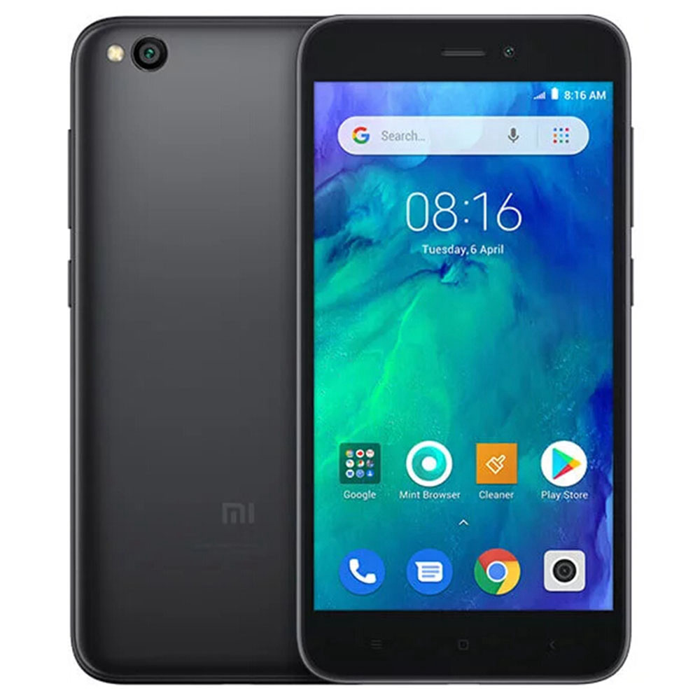 Xiaomi Redmi Go 5.0 inch 4G LTE Smartphone Snapdragon 425 1GB 8GB 8.0MP Rear+5.0MP Front Camera Android Special-edition System Global Version - Black