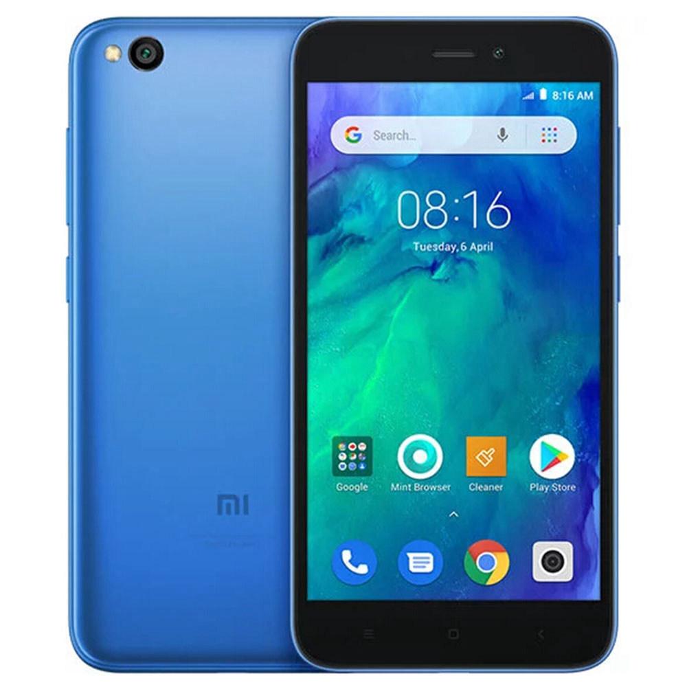 Xiaomi Redmi Go 5.0 hüvelyk 4G LTE okostelefon Snapdragon 425 1GB 8GB 8.0MP hátsó + 5.0MP elülső kamera Android speciális kiadás rendszer globális verzió - kék