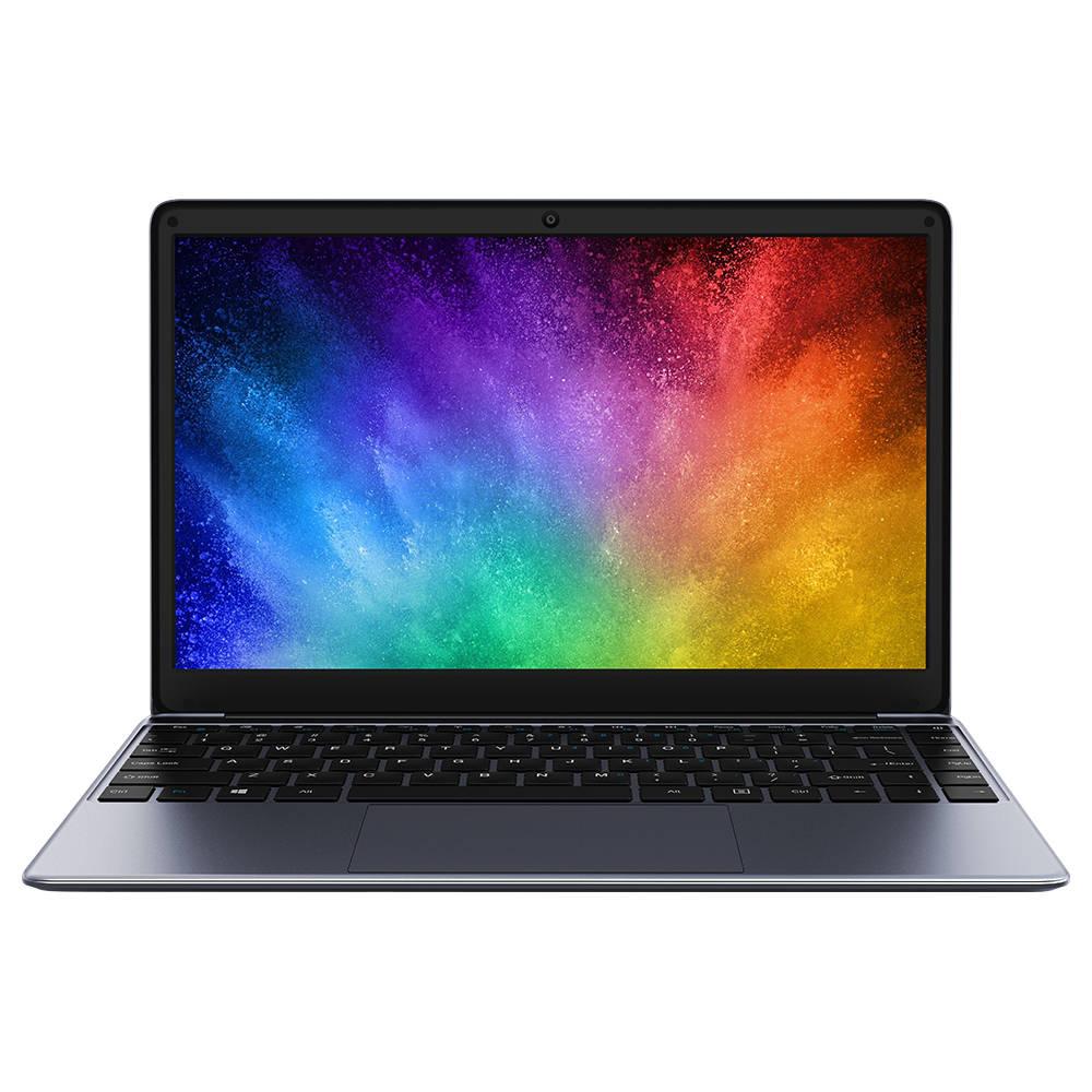 Chuwi HeroBook Laptop Intel Atom 5-E8000 Quad Core 14.1 Zoll 1366x768 4GB RAM 64GB ROM Windows 10 - Grau