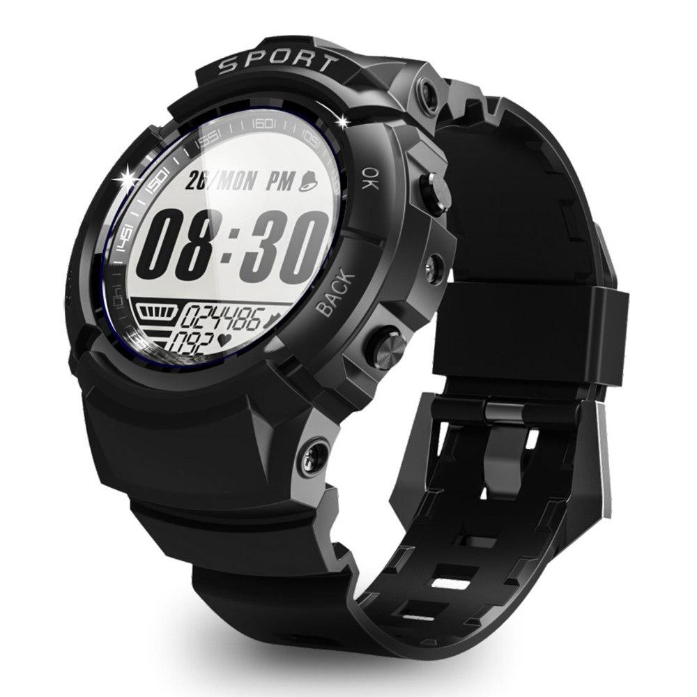 Makibes Mini G01 Sports ساعة ذكية رصد معدل ضربات القلب الديناميكي 5ATM 30 Days الاستعداد ساعة توقيت المنبه بوصلة - أسود