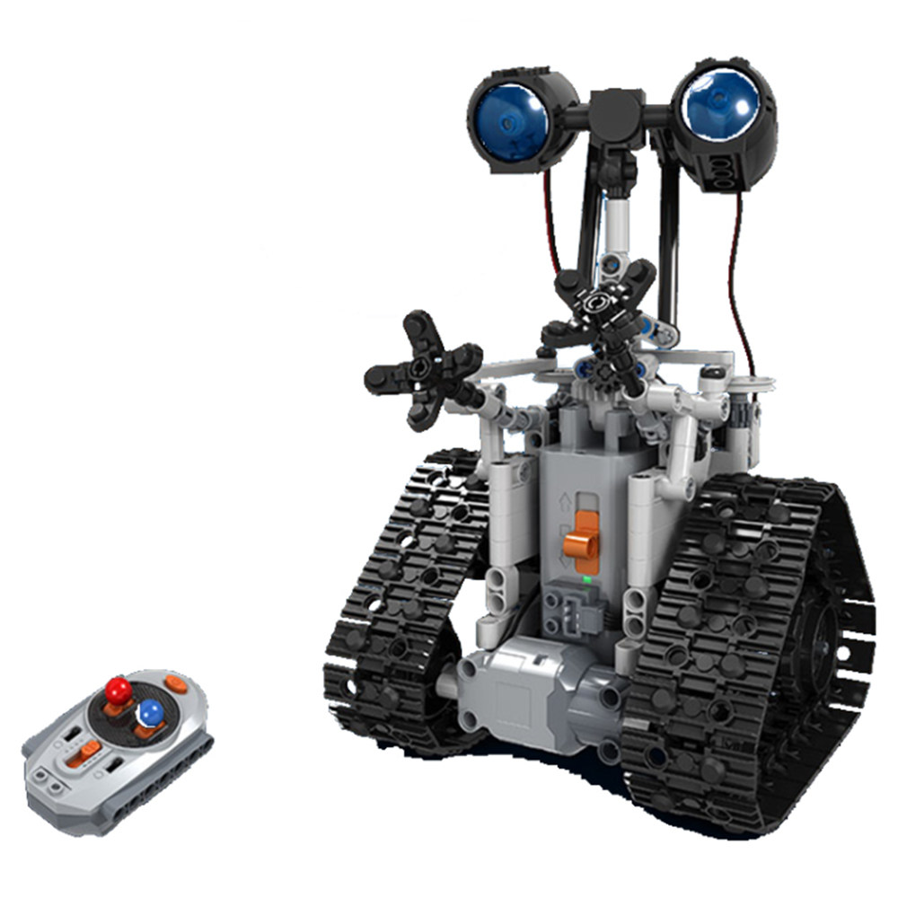 Mofun 7112 408PCS DIY Assembling Building Blocks Toys RC Robot