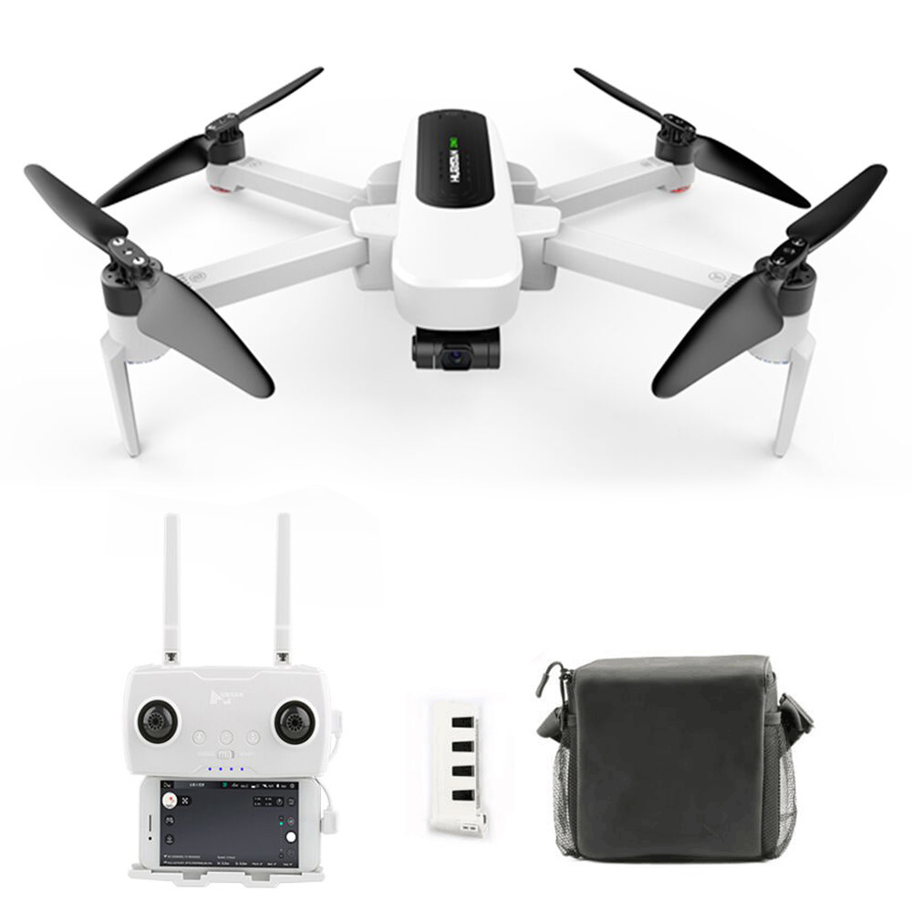 Hubsan H117S Zino 4K GPS 5G WIFI FPV RC Drone With 3-Axis Gimbal White - Portable Version