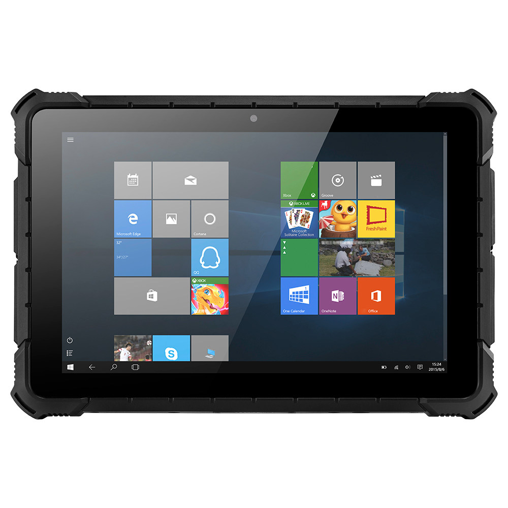 "PIPO X4 Rugged Tablet PC Intel Cherry Trail x5-Z8350 Quad Core 10.1"" IPS Screen 1920*1080 4GB RAM 64GB ROM Windows 10 - Black"