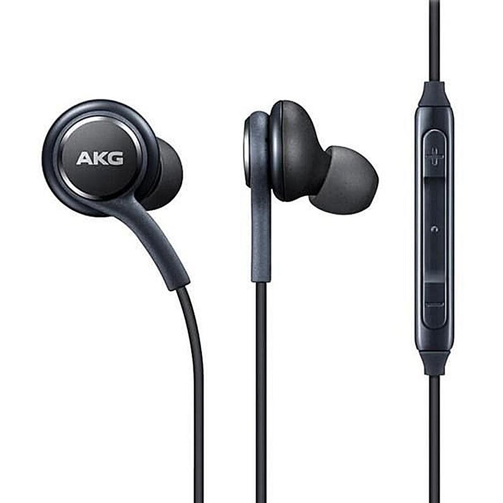 AKG 3.5mm In-Ear Wired Earphones For Samsung GALAXY S8 S8 + - Black