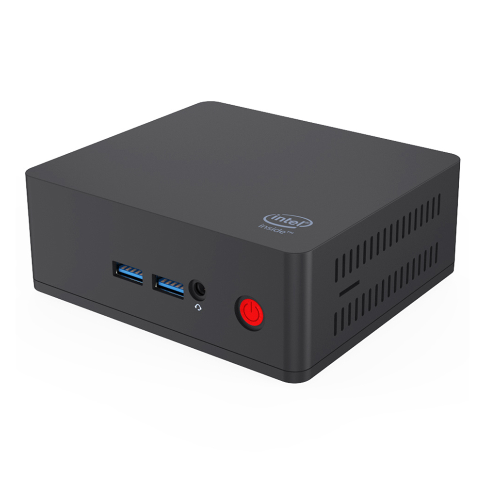Beelink AP45 Intel Pentium J4205 8GB DDR4 128GB mSATA SSD Windows 10 Mini PC Banda dual WiFi Bluetooth Gigabit LAN USB3.0 * 4 HDMI * 2 2.5 XNUMX pulgadas HDD Bay