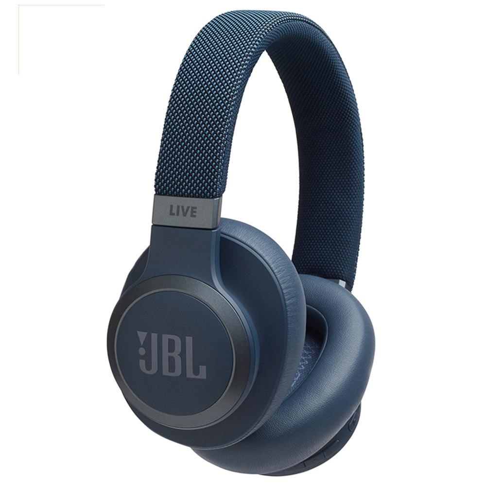JBL LIVE 650BTNC หูฟังบลูทู ธ ไร้สาย Smart Voice AI การขจัดเสียงรบกวนที่ใช้งาน - สีน้ำเงิน