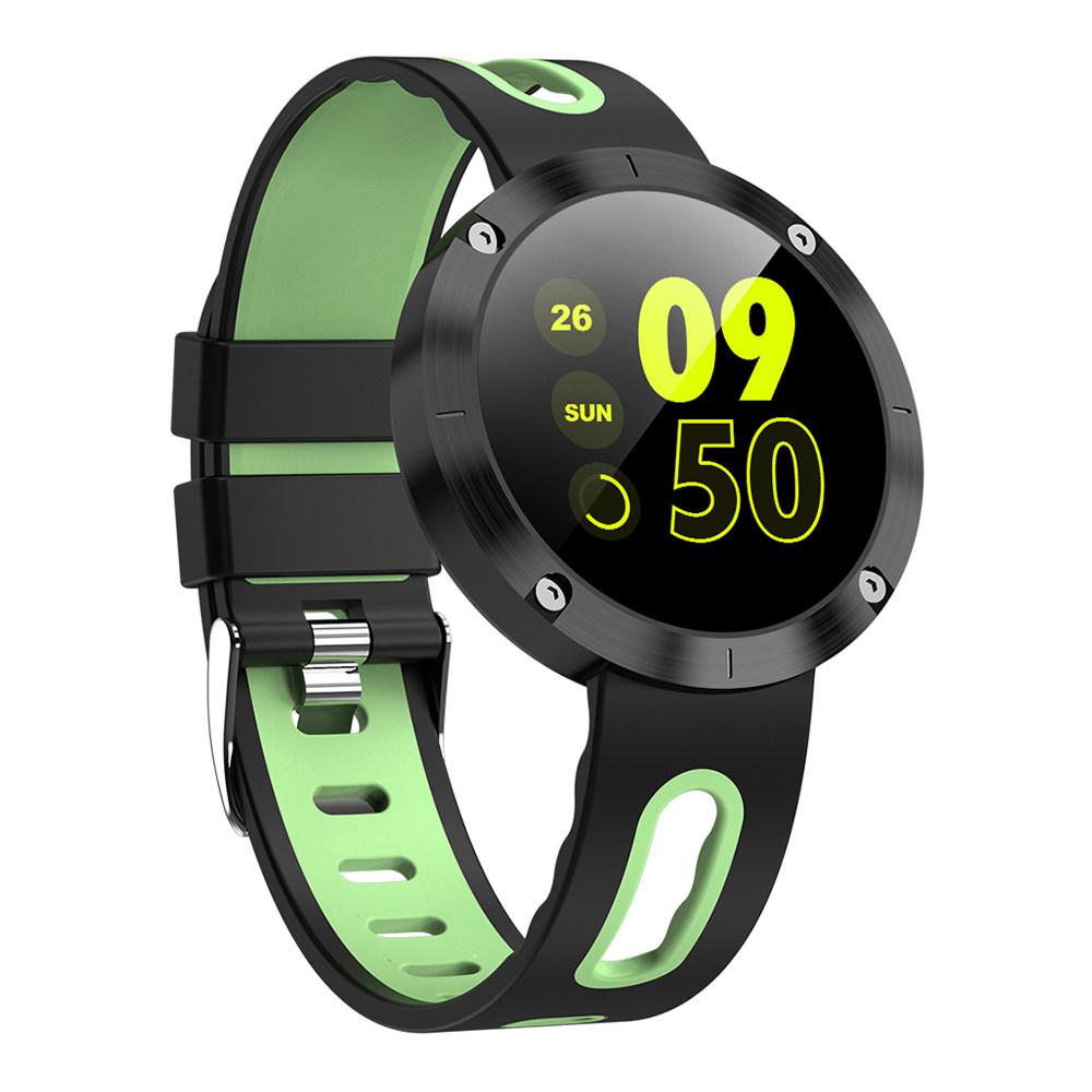 Makibes DM58 Plus Έξυπνο ρολόι 1.22 Inch IPS Οθόνη καρδιακών παλμών Παρακολούθηση Υγείας IP68 - Πράσινο
