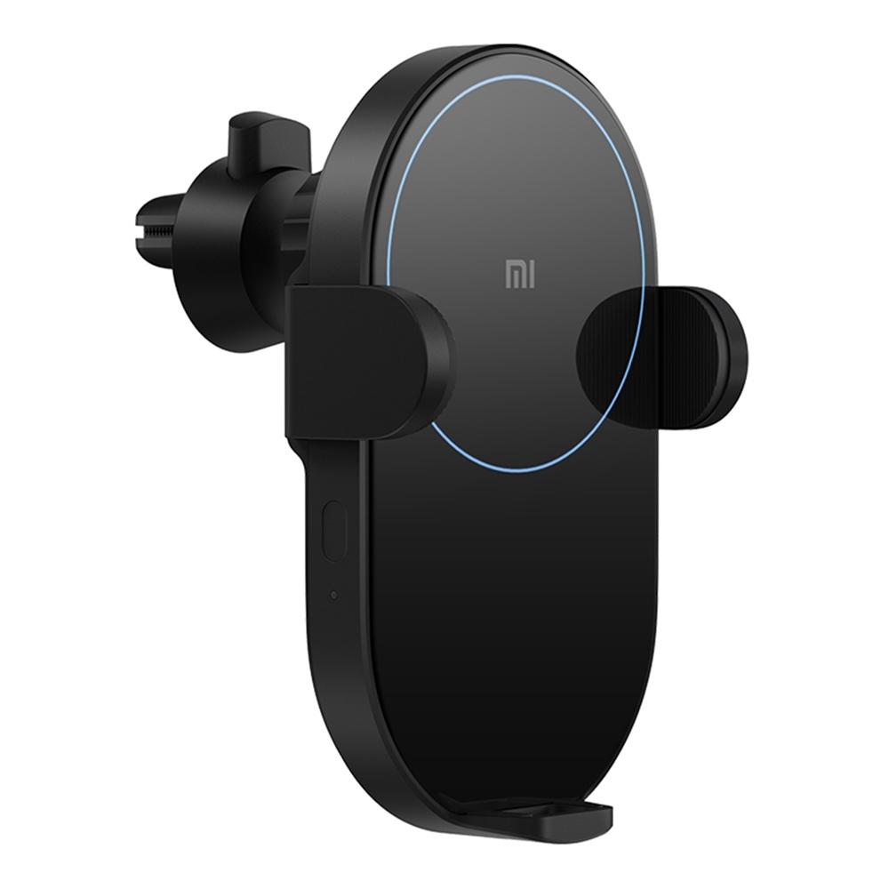 Xiaomi Беспроводное автомобильное зарядное устройство 20W Макс. Мощность Индуктивный электрический зажим с двойной теплоотдачей Быстрая зарядка - черный
