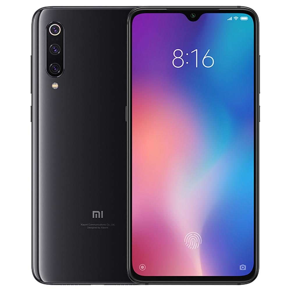 Xiaomi Mi 9 6.39 Inch 4G LTE Smartphone Snapdragon 855 6GB 128GB 48.0MP + 12.0MP + 16.0MP Τριπλές κάμερες πίσω MIUI 10 Ενσωματωμένο δακτυλικών αποτυπωμάτων NFC Fast Charge Global Version - Πιάνο μαύρο