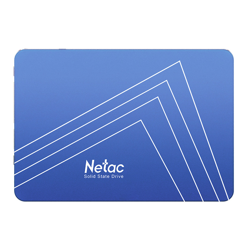 Netac N500S 960GB Μονάδα σκληρού δίσκου SSD 2.5 Inch SATA3 Ταχύτητα ανάγνωσης διεπαφών 500MB / s - Μπλε