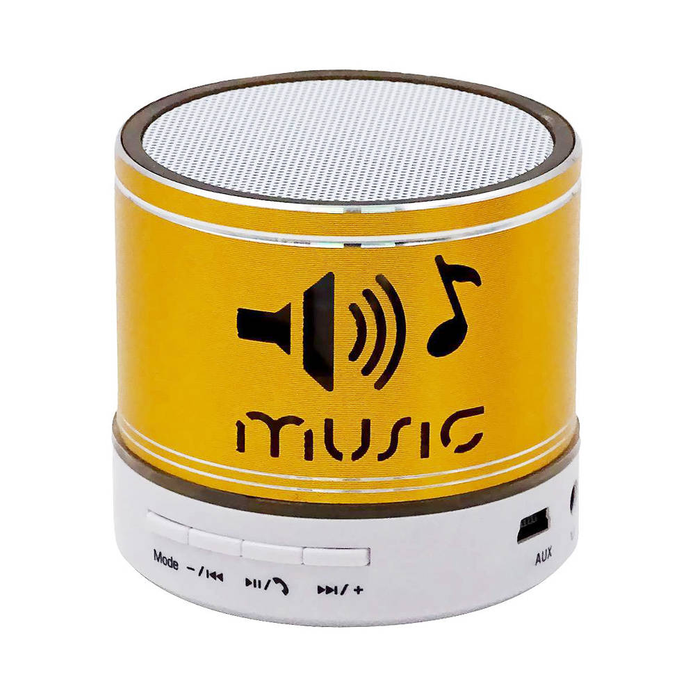 XS A Wireless Bluetooth Speaker with Microphone FM Radio - Yellow фото