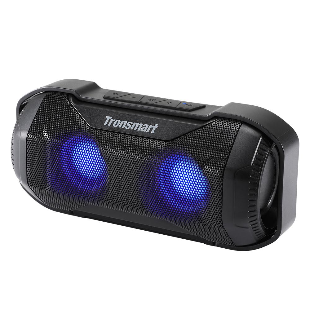 Tronsmart Element Blaze BluetoothスピーカーIPX6耐水性の優れた低音LEDライト