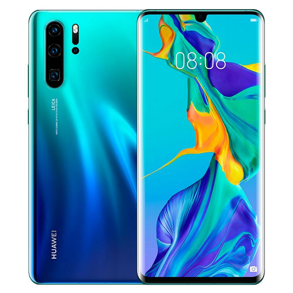 HUAWEI P30 Pro CN Version 6.47 Inch 4G LTE Smartphone Kirin 980 8GB 512GB 40.0MP+20.0MP+8.0MP+TOF Quad Rear Cameras Android 9.0 NFC In-display Fingerprint Wireless Charge - Aurora
