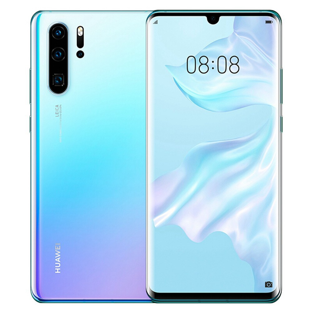 HUAWEI P30 Pro CN Version 6.47 Inch 4G LTE Smartphone Kirin 980 8GB 512GB 40.0MP+20.0MP+8.0MP+TOF Quad Rear Cameras Android 9.0 NFC In-display Fingerprint Wireless Charge - Breathing Crystal фото