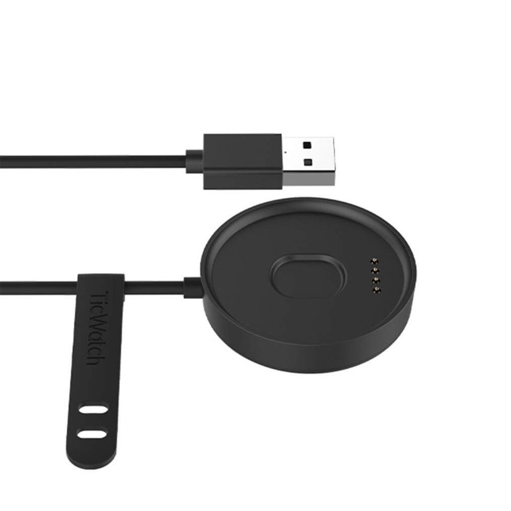 Original Replacement Charger Data Sync USB Charging For Ticwatch C2 - Black фото
