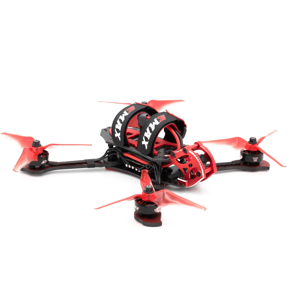 Emax Buzz Freestyle drone F4 5-6S 4IN1 45A 32KV motoros Caddx Micro S1700 CCD kamera BNF - Frsky XM + vevő