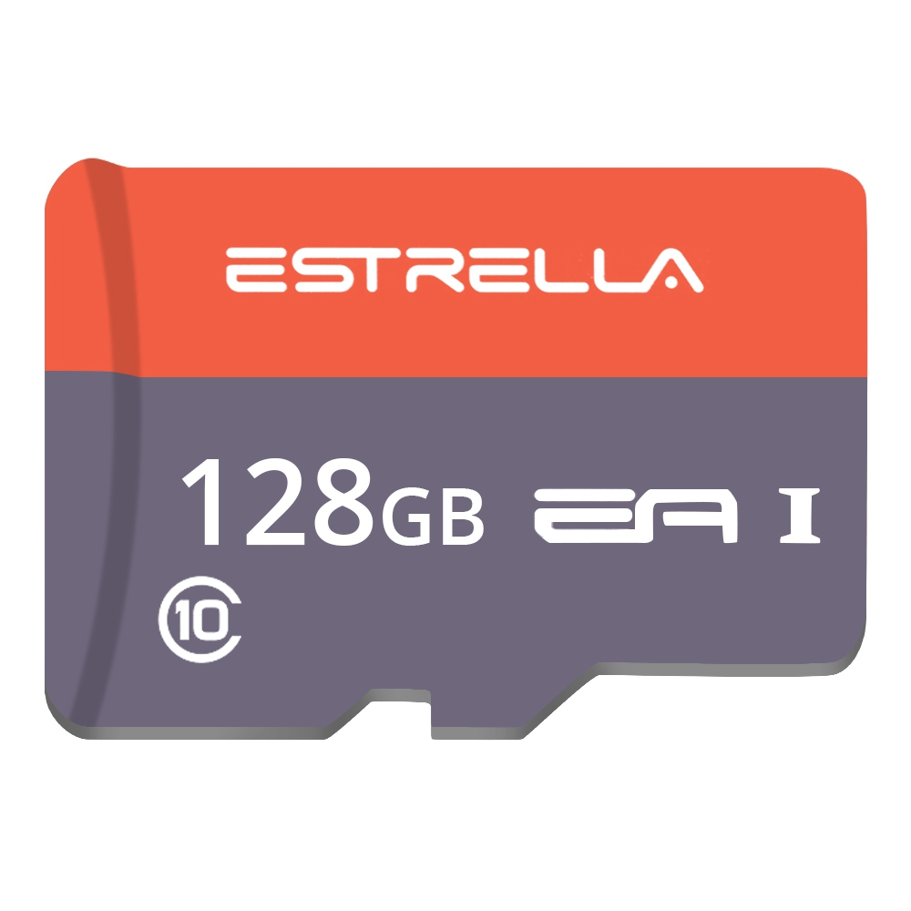 ESTRELLA Class10 Micro SD Memory Card TF for Phones Tablet 128G