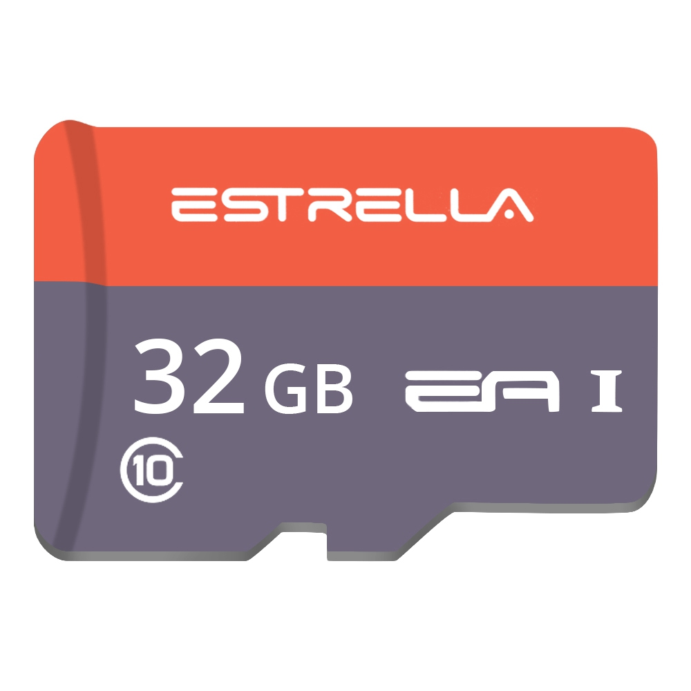 ESTRELLA Class10 Micro SD Memory Card TF for Phones Tablet 32G