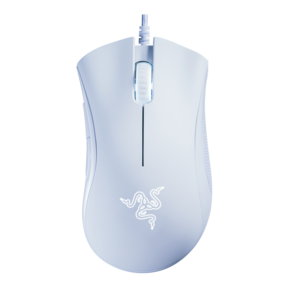 Razer DeathAdder Essential Optical Souris de jeu de qualité professionnelle Ergonomique 6400 Adjustable DPI - Blanc