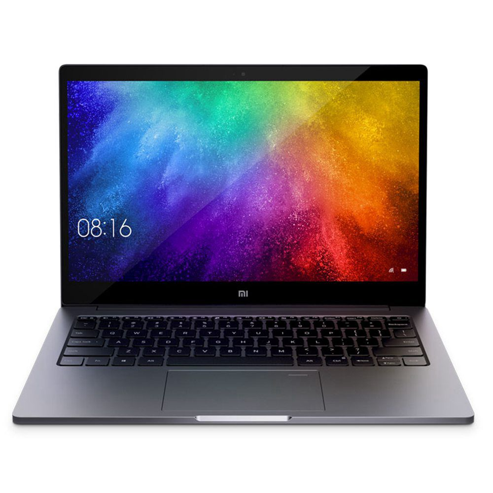 โน๊ตบุ๊ค Xiaomi Mi Air (2019) 13.3 & quot; Intel Core i5-8250U Quad Core 1920 * 1080 8GB RAM 256GB PCle SSD SSD NVIDIA GeForce MX250 Windows 10 ลายนิ้วมือ - สีเทา