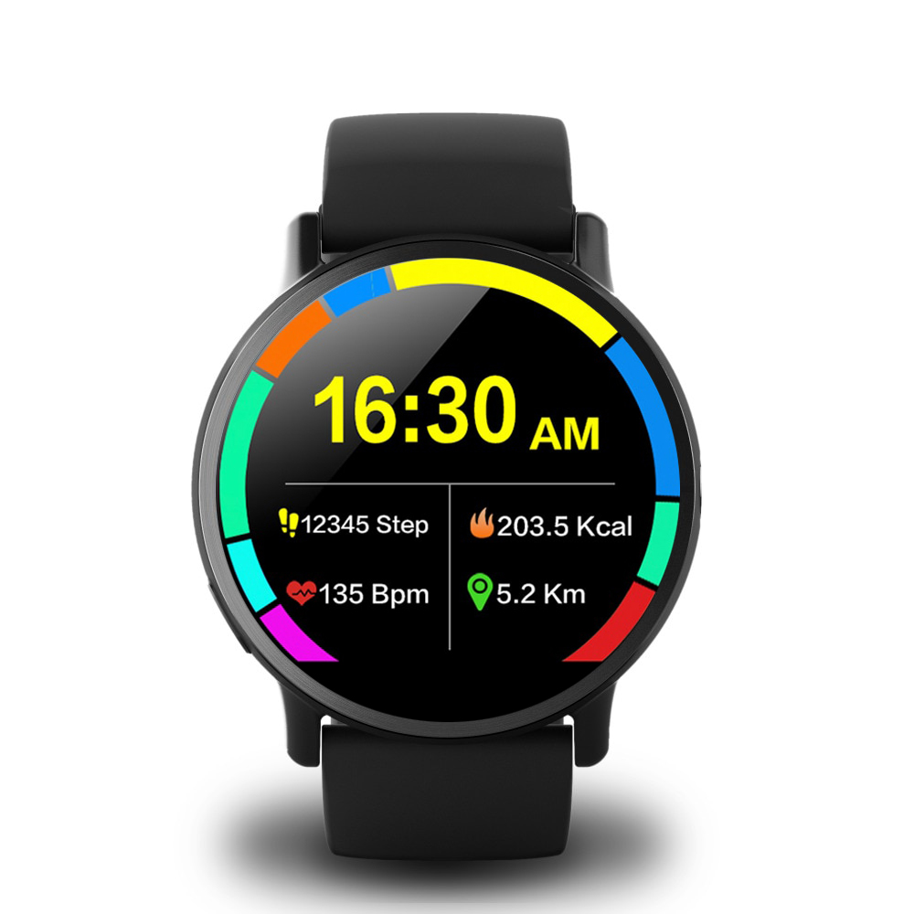 Makibes G3 4G Smartwatch do telefonu Android 7.1 MTK6739 Quad Core 1GB RAM 16GB ROM 2.03 Inch Screen 8MP Camera GPS WiFi - Czarny