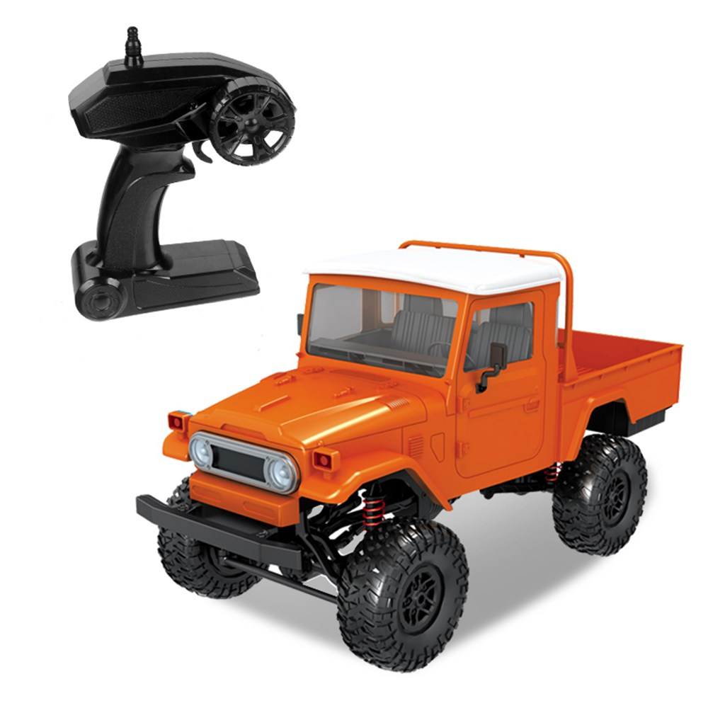 MN Model MN-45 1/12 2.4G 4WD Climbing Off-road Vehicle RC Car with LED Light RTR - Orange
