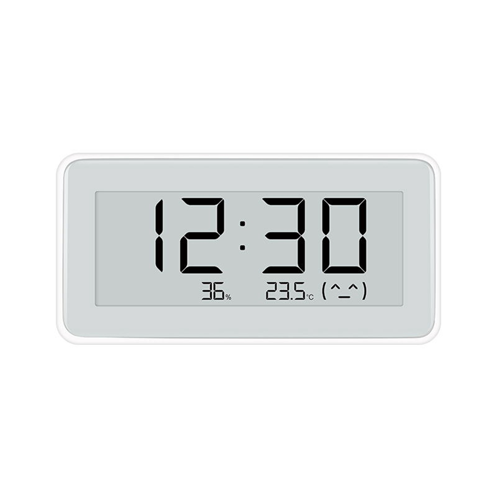 Xiaomi Mijia Bluetooth Temperature Humidity Monitor APP Control 3.7 Inch E-ink Screen Built-in Sensirion Sensor- White