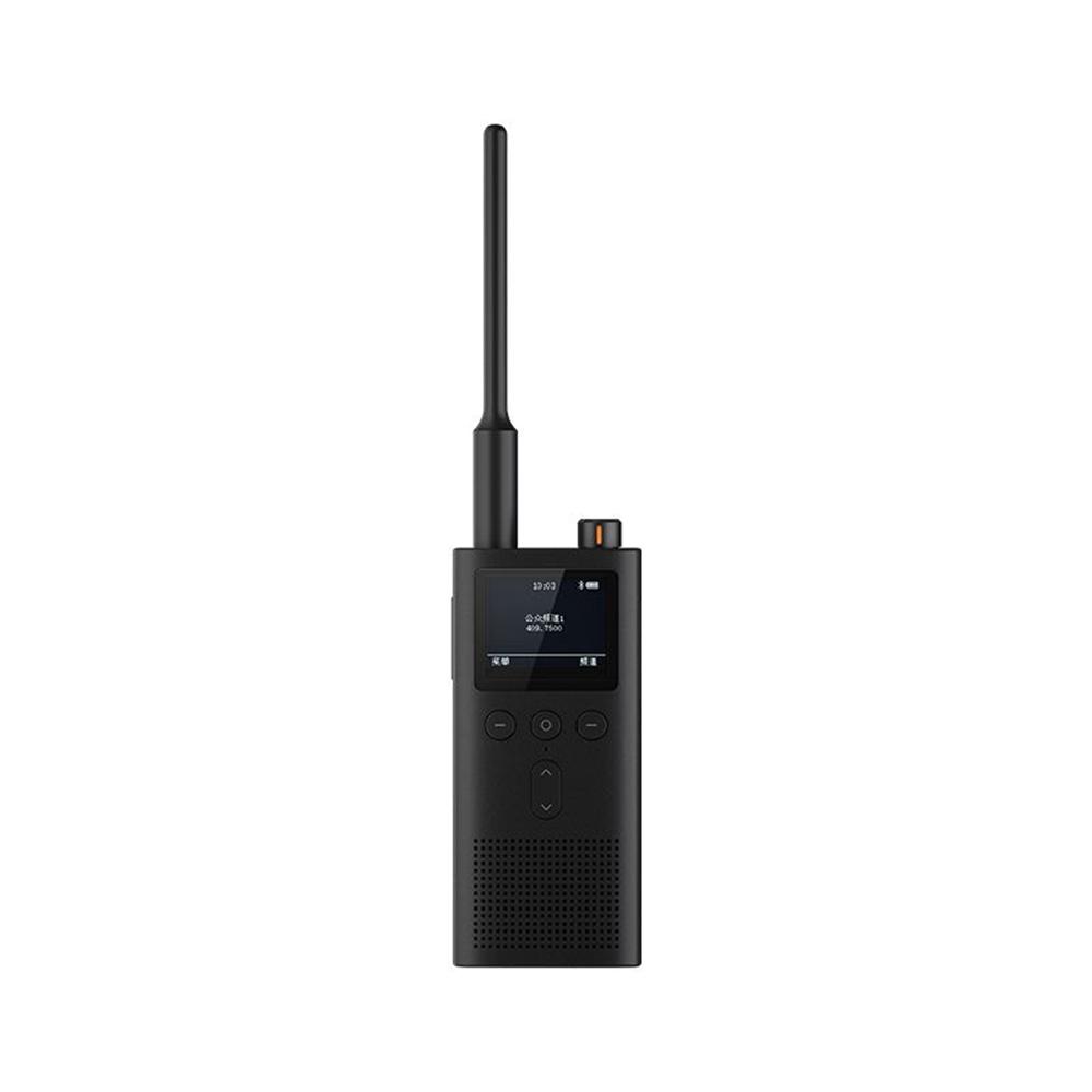 Xiaomi Mijia Walkie Talkie 2 UHF-VHF Dual-band 5W Trasmissione Potenza 5200mAh Batteria IP65 Resistente all'acqua - Nero