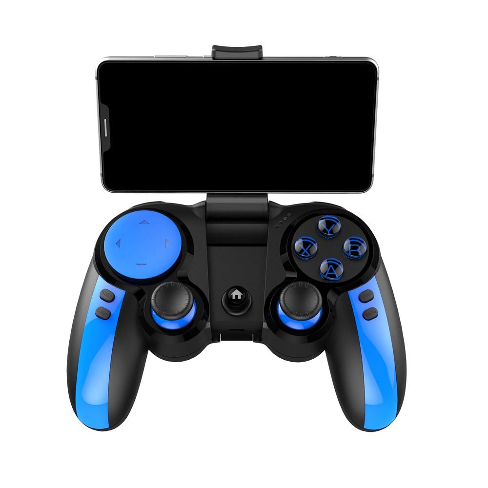 iPega PG9090 BluetoothゲームパッドPUBG用ゲームコントローラー - ブルー