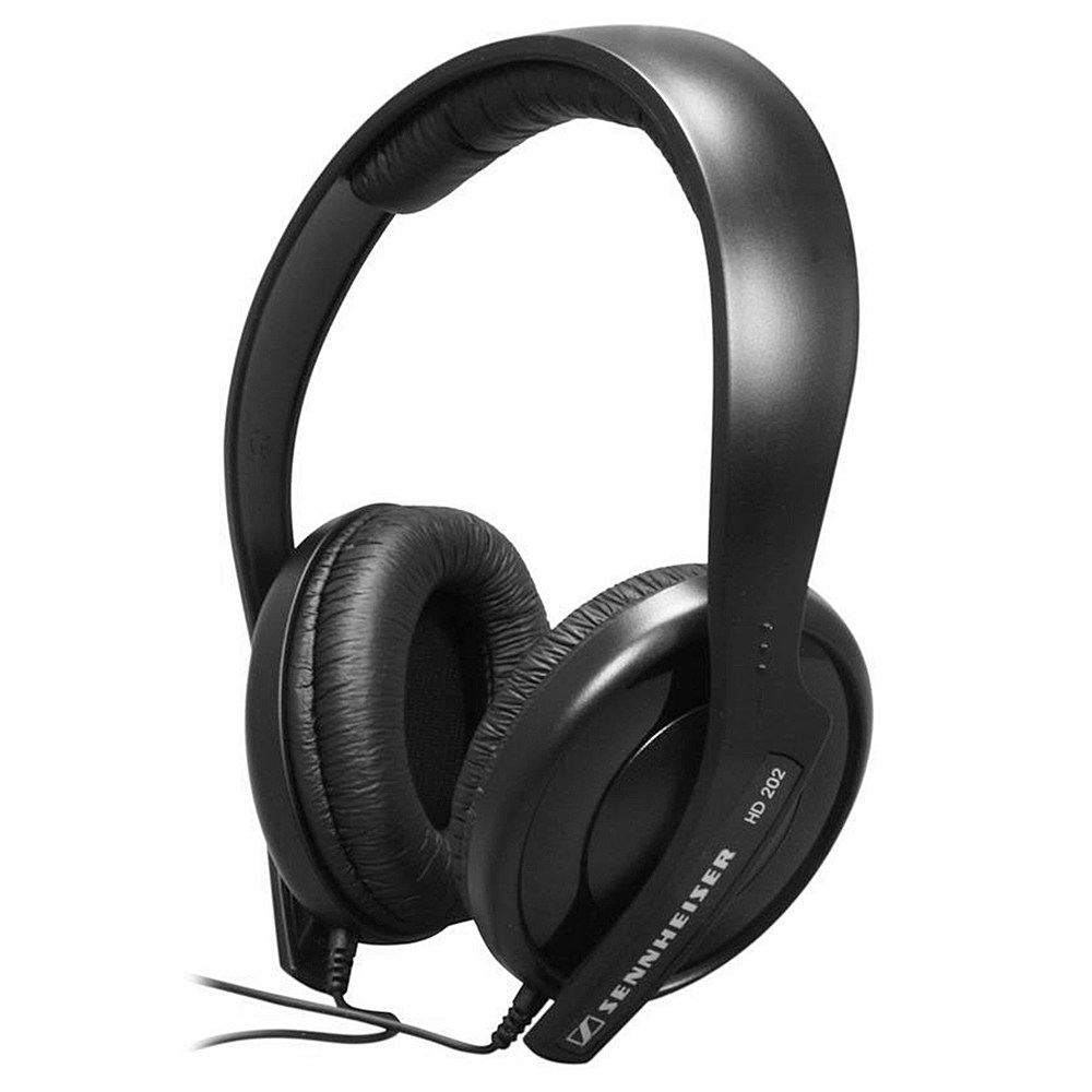 Sennheiser HD 202 II Wired Headphone HiFi Stereo -Black
