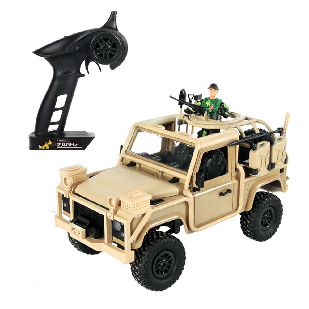 Modello MN MN-96 RSOV 1 / 12 2.4G 4WD Crawler Climbing Vehicle RC Car con LED Light RTR