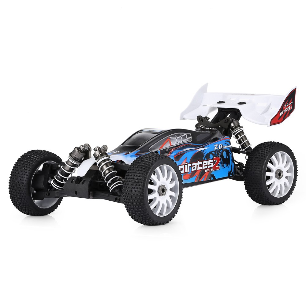 ZD Racing 9072 1 / 8 2.4G 4CH 4WD 80A ESC 3670 3300KV Motor Brushless Buggy RC Car RTR - US Plug