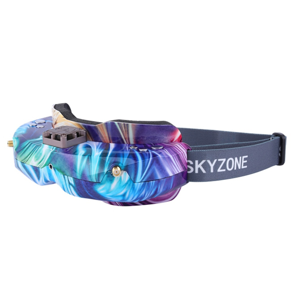 Skyzone SKY02X SE Version 5.8G 48CH True Diversity FPV Goggles Built-in Fan DVR Support 2D/3D HDMI IN For Racing Drone - Lollipop