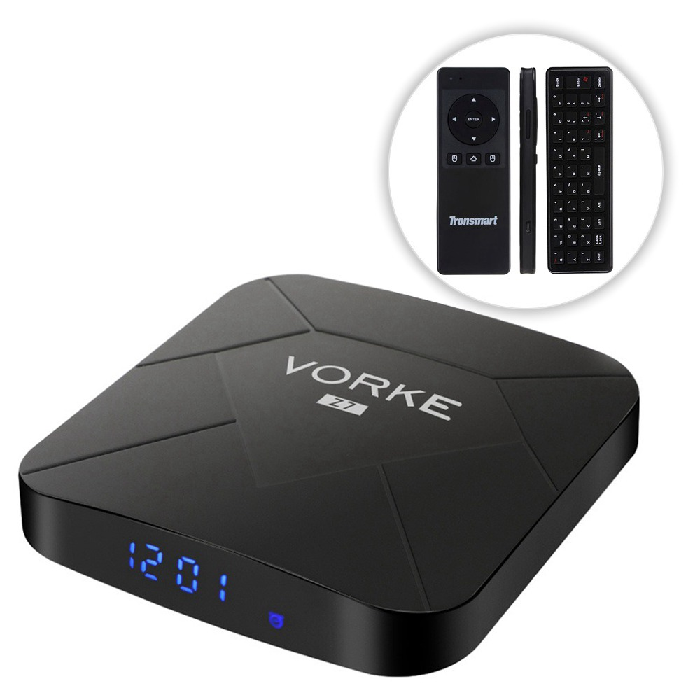 Pakiet VORKE Z7 Allwinner H6 Android 9.0 4GB / 64GB 6K TV Box + Tronsmart TSM01 Air Mouse
