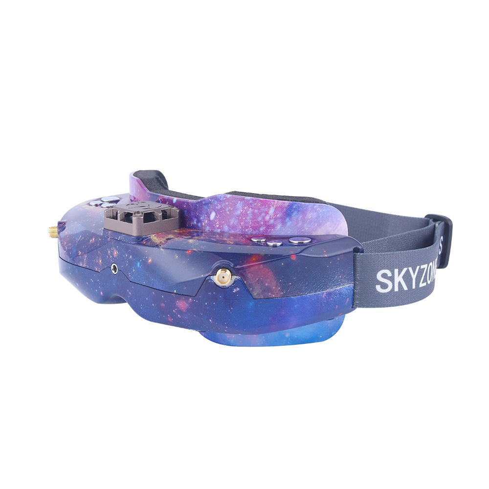Skyzone SKY02C SE Version 5.8G 48CH True Diversity FPV Goggles Built-in Fan DVR Support HDMI IN For Racing Drone-Galaxy