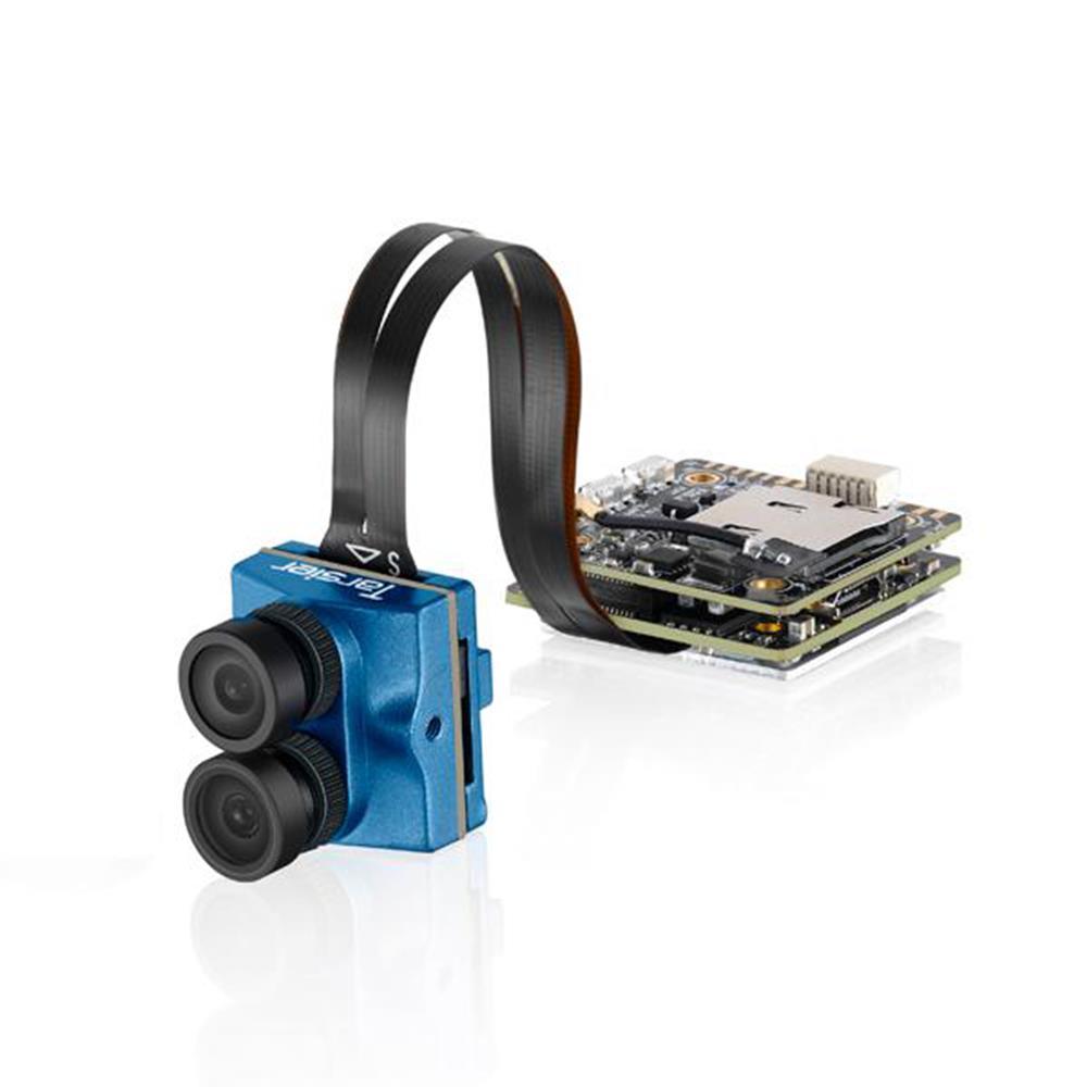 Caddx Tarsier 4K / 30FPS Гоночная беспилотная камера Dual IENS WIFI FPV с аппаратным обеспечением Super WDR Защита от сотрясений - синий