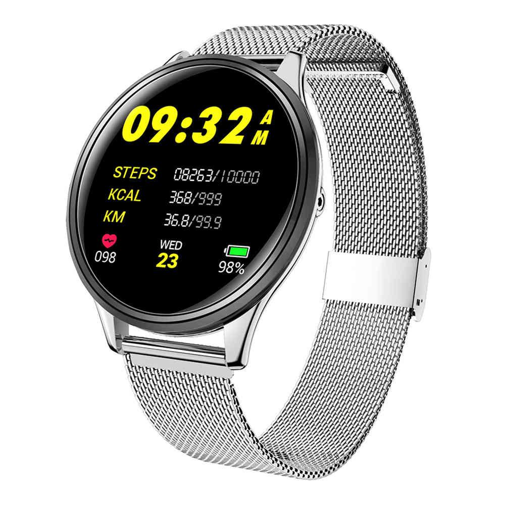 Makibes B06 Έξυπνο ρολόι παρακολούθησης της αρτηριακής πίεσης οθόνης IPS οθόνης 1.3 ιντσών