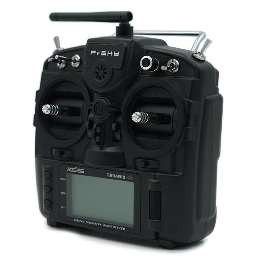 Frsky Taranis X9 Lite 2.4G ACCESS 24CH Radio Transmitter With G7 Noble Gimbal ErskyTX/OpenTX Operating System - Black