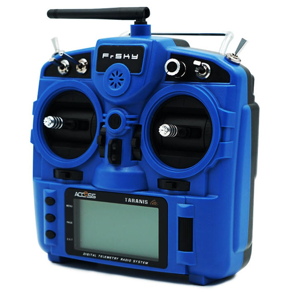 Frsky Taranis X9 Lite 2.4G ACCESS 24CH Radio Transmitter With G7 Noble Gimbal ErskyTX/OpenTX Operating System - Blue
