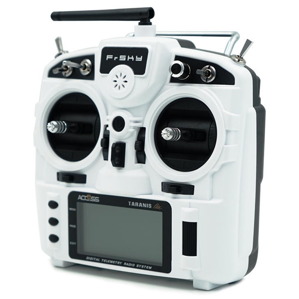 Frsky Taranis X9 Lite 2.4G ACCESS 24CH Radio Transmitter With G7 Noble Gimbal ErskyTX/OpenTX Operating System - White
