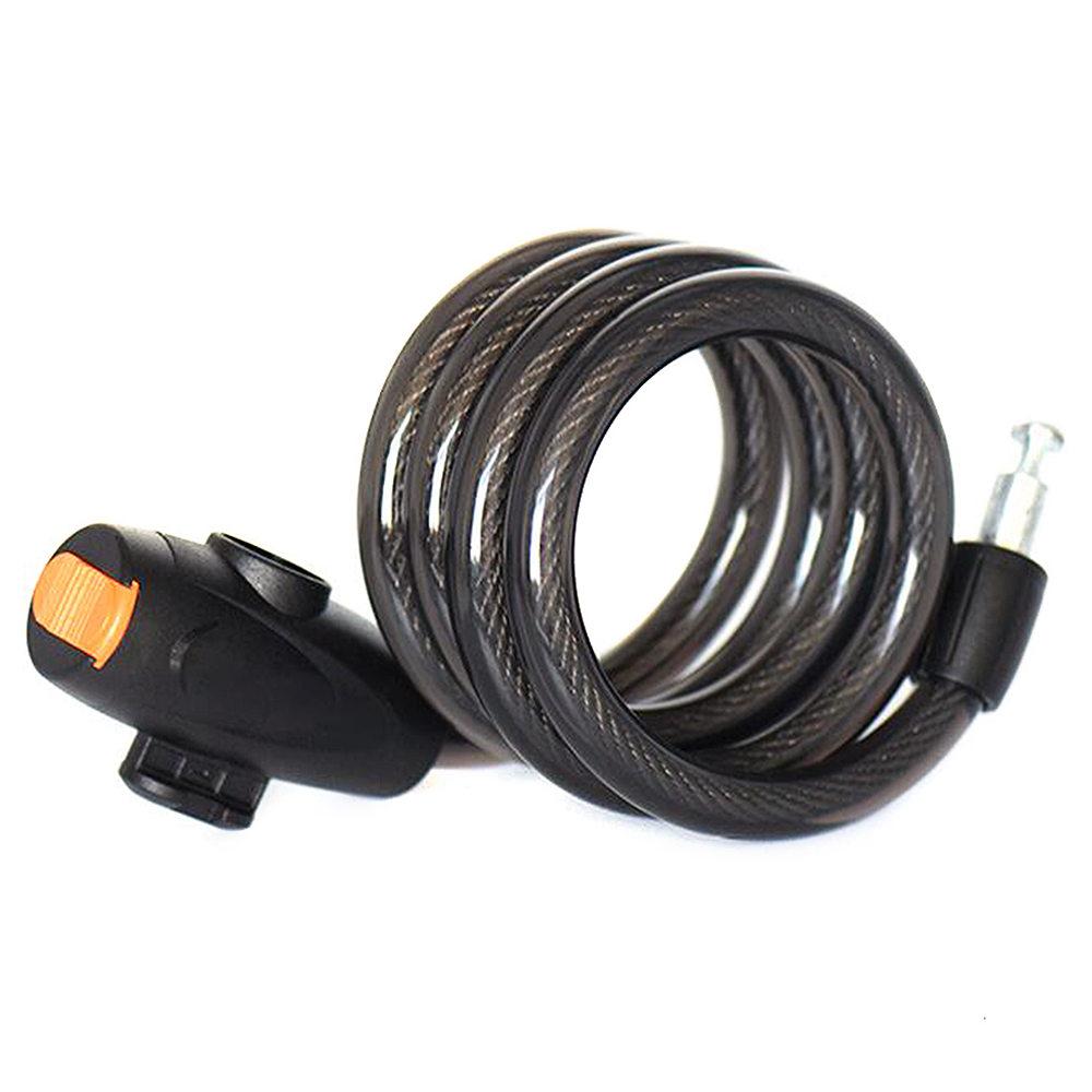 Φορητό καλώδιο σκούτερ με καλώδιο σκούτερ με ασφαλή κλειδιά - μαύρο