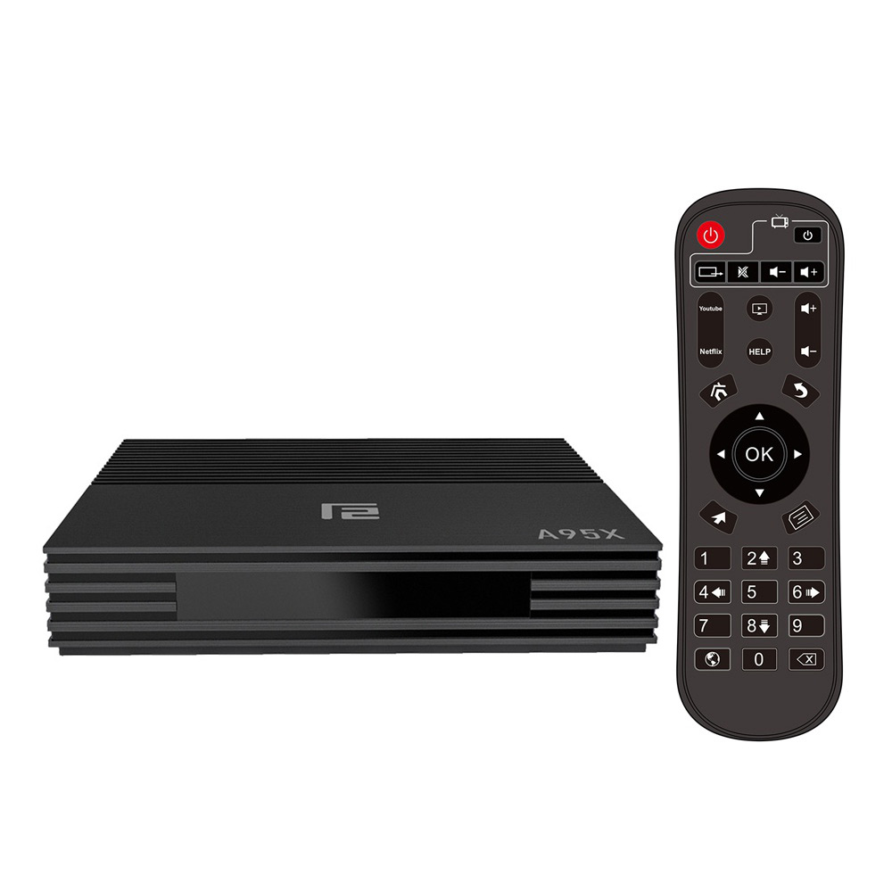 A95X F2 Amlogic S905X2 Android 9.0 4GB / 64GB TV-Box 4K @ 75fps 2.4G / 5G WLAN Bluetooth USB 3.0 KODI 17.6