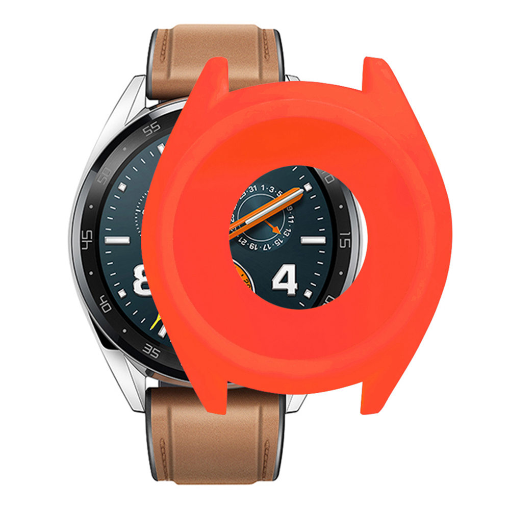 Custodia Cover in silicone sostitutiva per Huawei Active Watch GT - rossa