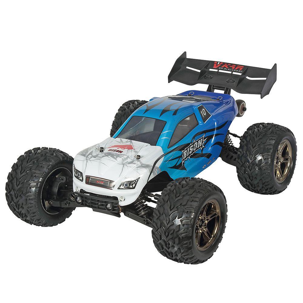 VKARレーシングバイソンV3 1 / 10 2.4G 4WDオフロードモンスターブルギーRCカー、底板RTR付き