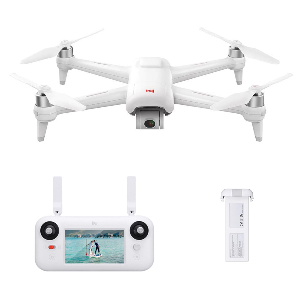 Xiaomi FIMI A3 5.8G GPS 1KM FPV RC Drone with 2-Axis Gimbal 1080P Camera 25mins Flight Time RTF - Two Batteries
