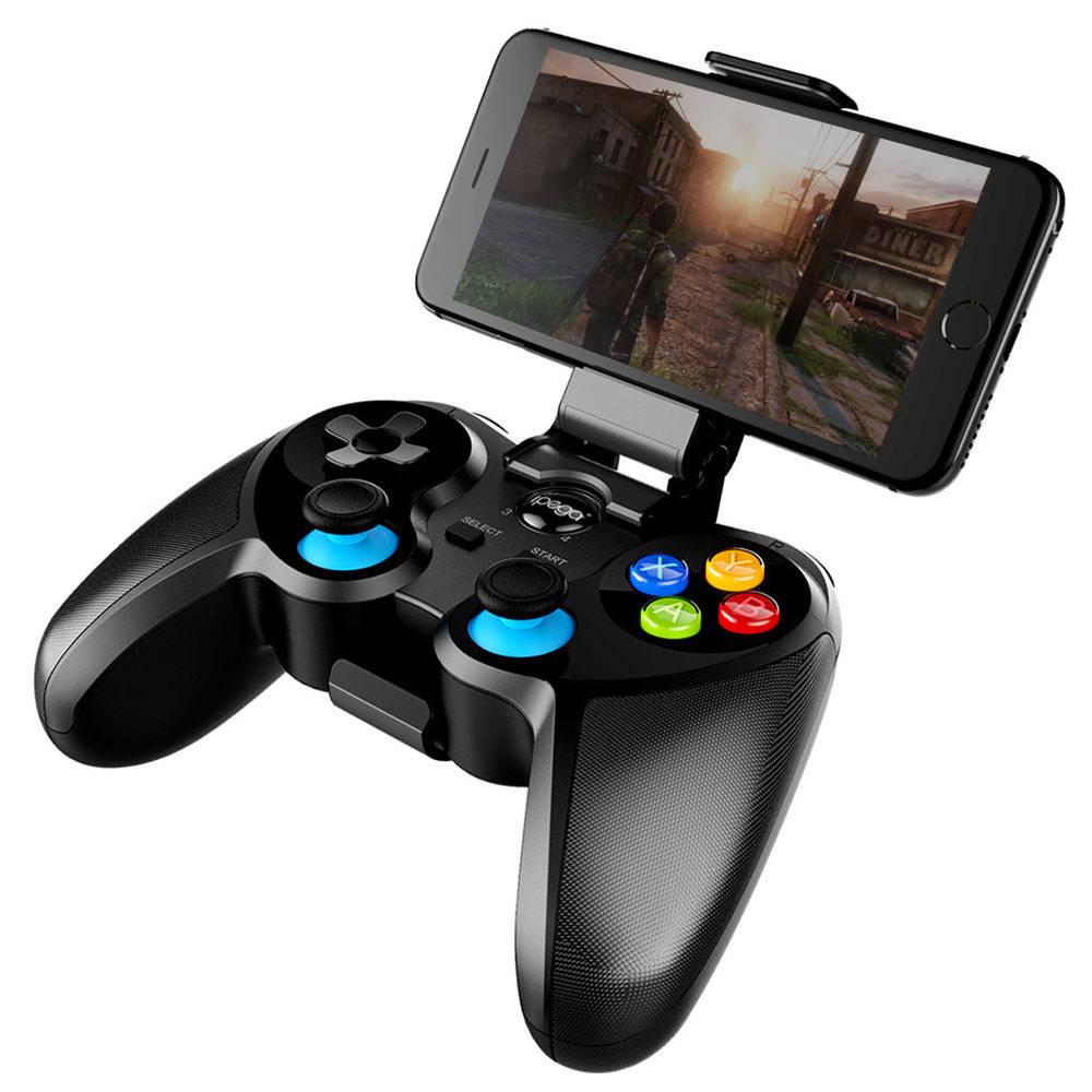Manette de jeu sans fil Bluetooth Ipega PG-9157 Joystick Multimedia pour iOS Andriod Téléphone TV Box Box - Noir